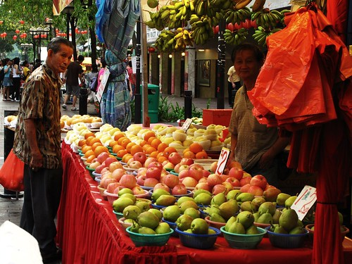IMG_9884 Fruit stall , Bugis Singapore , 武吉士,新加坡