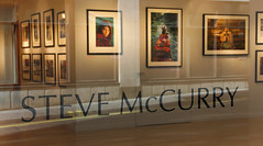 Steve McCurry: On the Outside Looking In (babasteve) Tags: london photography photographer photos exhibit babasteve afghangirl stevemccurry steveevans