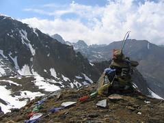 Jhomolhari Trek 266 Bhutan (Iancochrane) Tags: trekking la bhutan hiking buddhist prayer pass flags western yeli jhomolhari