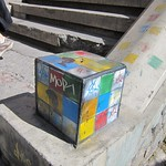 "Rubik's Cube? <a style=""margin-left:10px; font-size:0.8em;"" href=""http://www.flickr.com/photos/14315427@N00/6160975481/"" target=""_blank"">@flickr</a>"