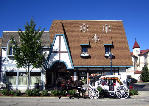 Horse & Buggy on Main Street