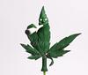 Marijuana Cake Topper (Rouvelee's Creations) Tags: birthday polymerclay caketopper marijuana figuremodelling rouvelee