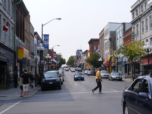 A Kingston business street scene
