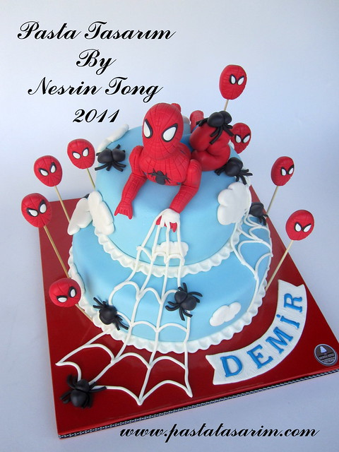 SPIDERMAN CAKE- DEMIR BIRTHDAY