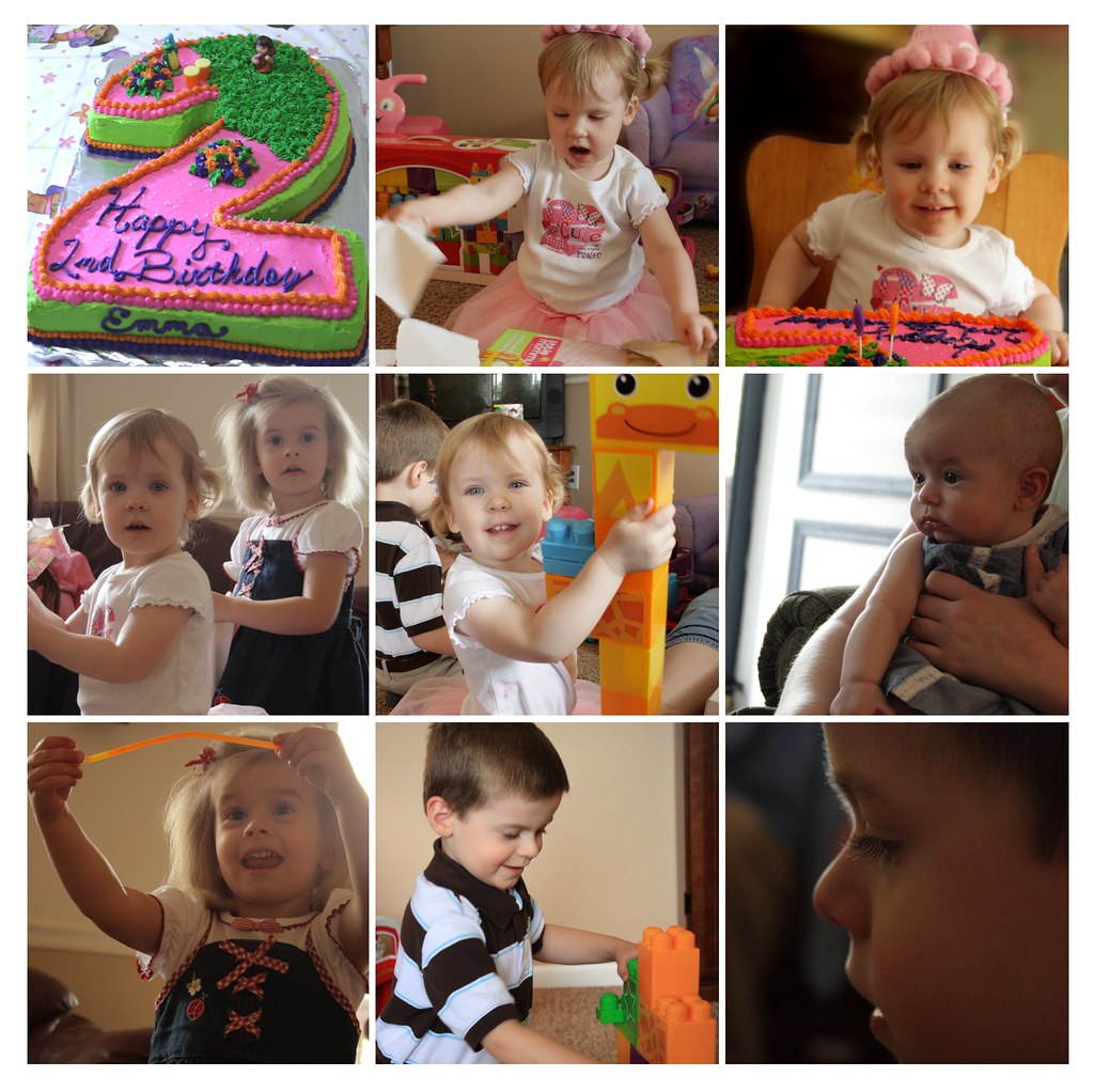 Emma's 2nd Bday
