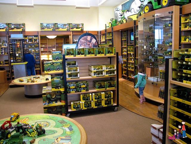 John Deere gift shop
