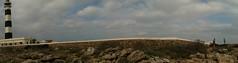 Artrutx (_sgt_riot_) Tags: panorama lighthouse landscape faro island wide paisaje panoramica far isla app menorca stich illa iphone