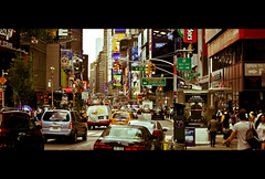 Cinematic New York City (Alex E. Proimos) Tags: street new york city film photo crowd scene busy rush hour cinematic