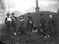 Walking Wounded (National Library of Ireland on The Commons) Tags: wounded sling scouts uniforms 1910s kilts swords bandages nationalism scouting nationallibraryofireland brendankeogh constancegorebooth fieldmedicine countessmarkievicz fiannaireann keoghbrothers keoghcollection