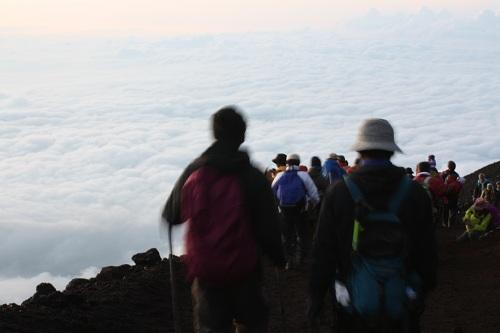 富士山帰り道