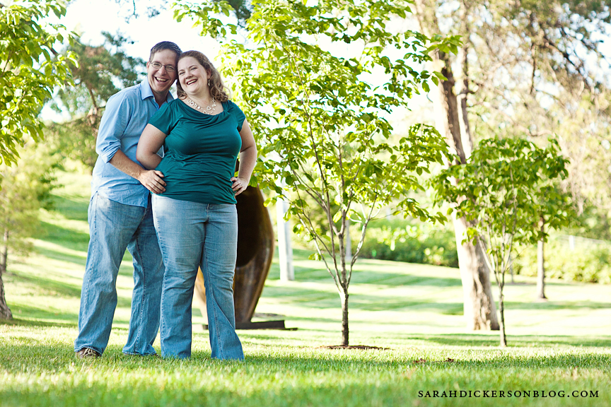 Nelson-Atkins Museum of Art engagement photographers