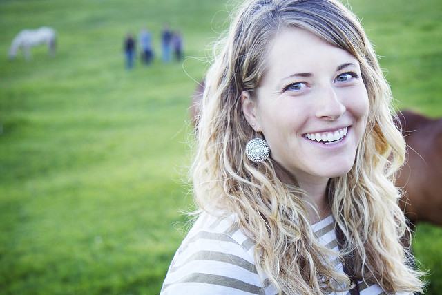 Black Mountain Colorado Dude Ranch woman smiling