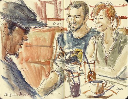 Agnes, Cesar, and TETSU