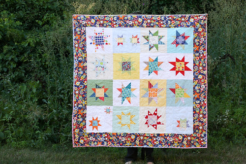 do. Good Stitches Wonky Star Quilt
