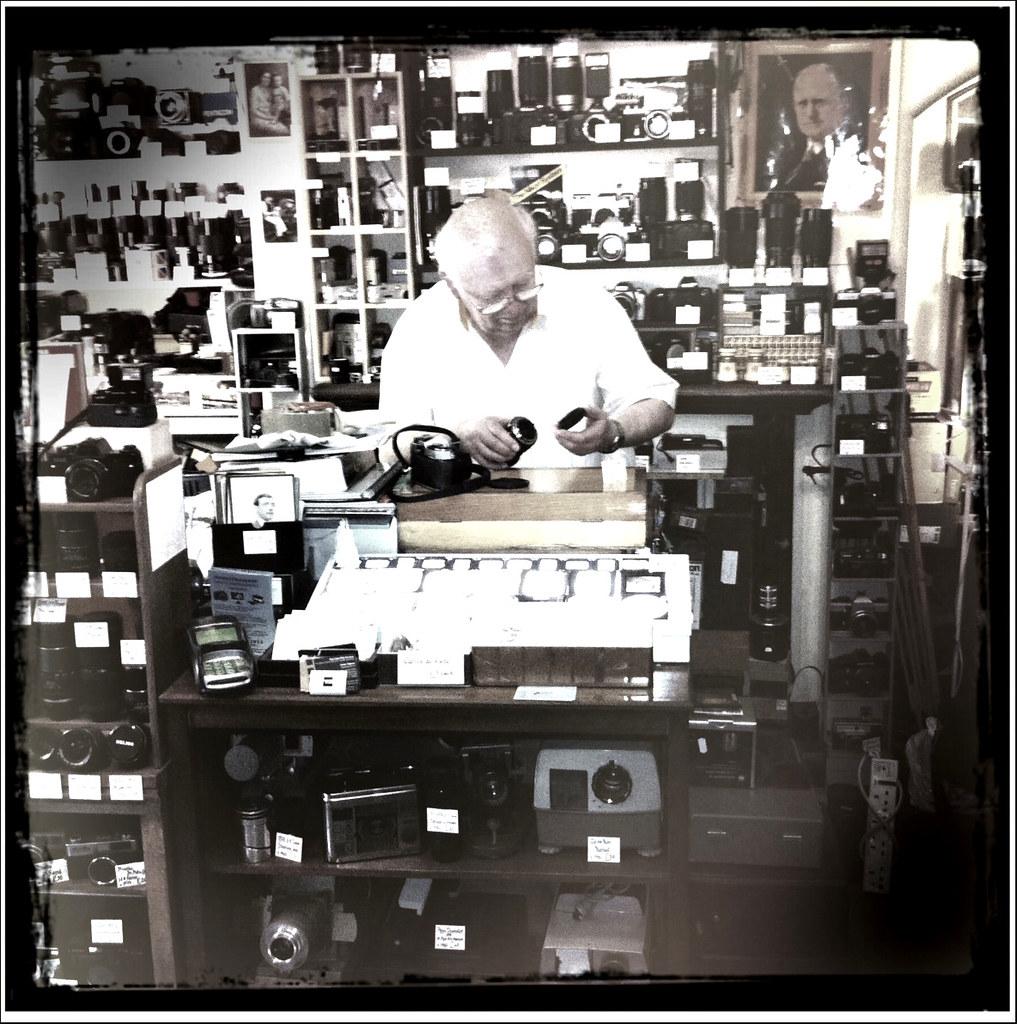 Arundel 2nd hand camera shop