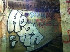 HERT, POUT (S C R A T C H I E S) Tags: nyc graffiti pout hert nsf