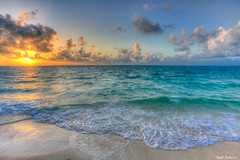 Breaking Dawn at Long Bay | 0811-1-6931 (Chad Dutson) Tags: ocean sea sky cloud beach nature sunrise landscape photography photo sand outdoor wave shore caribbean hdr provo turksandcaicos providenciales canon5dmarkii