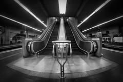 Tatuap (MichelRodrigues) Tags: bw subway saopaulo metro curves pb fisheye sp tatuap