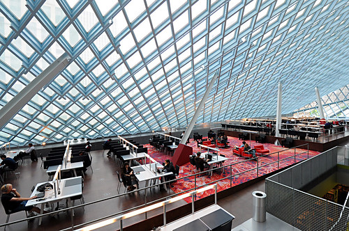 Seattle Central Library - Top Floor