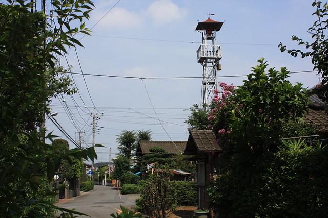 高倉の火の見櫓(入間市)
