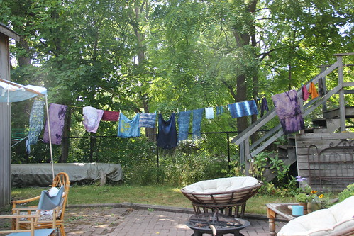 dyeing party !