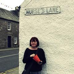 Nurse Knows Best (monkeyiron) Tags: perthshire comrie flickrwidow nurseslane