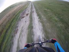 GOPR1960 (Handolio) Tags: bike offroad motionblur bridleway helmetcam southdownsway gopro trekfuelex8 fulkingescarpment