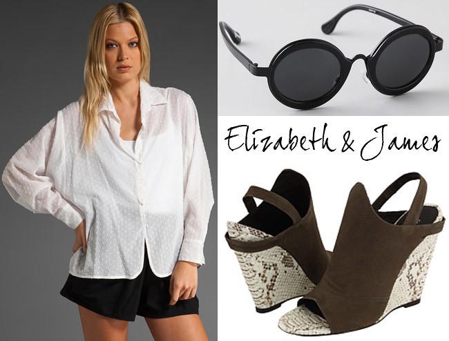Mary Kate Olsen, Ashley Olsen, Fashion collage, Style inspiration, Elizabeth and James