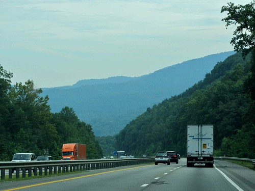 Driving to the Smokies