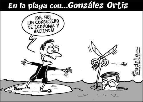 Padylla_2011_08_18_En la playa con González Ortiz