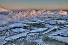 Ice-drift around the lighthouse of Marken (Marijke M2011) Tags: winter ice sunrise landscape icedrift