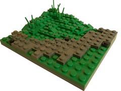 The Dead-WW2 vig without minifigs (IAMENS1) Tags: lego bricks wwii creation dio ww2 vignette axis diorama allies germans moc allied vig a brickarms legounit