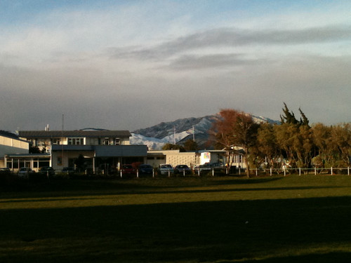 Day 227 - Looking south over Kapiti College by dragonsinger