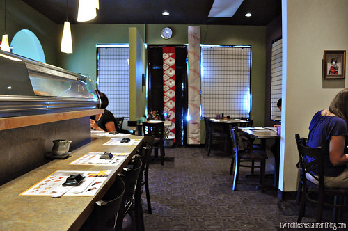 Dining Room at Murasaki japanese ~ Stillwater, MN