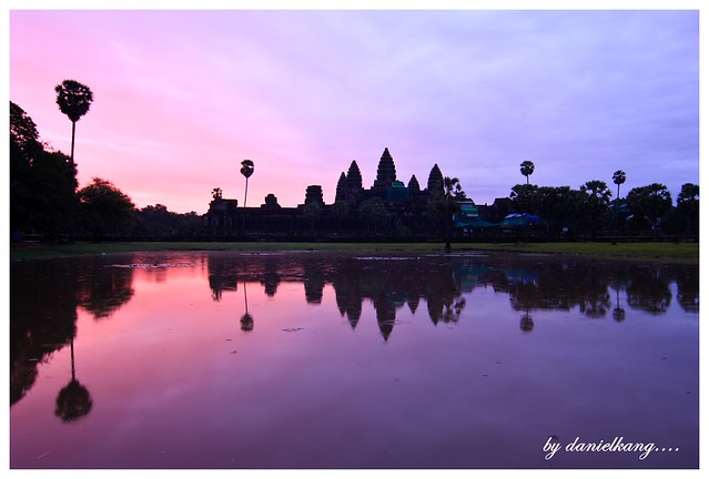 Dawn in Angkor Wat