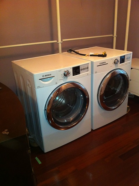 Washer Dryer New Location