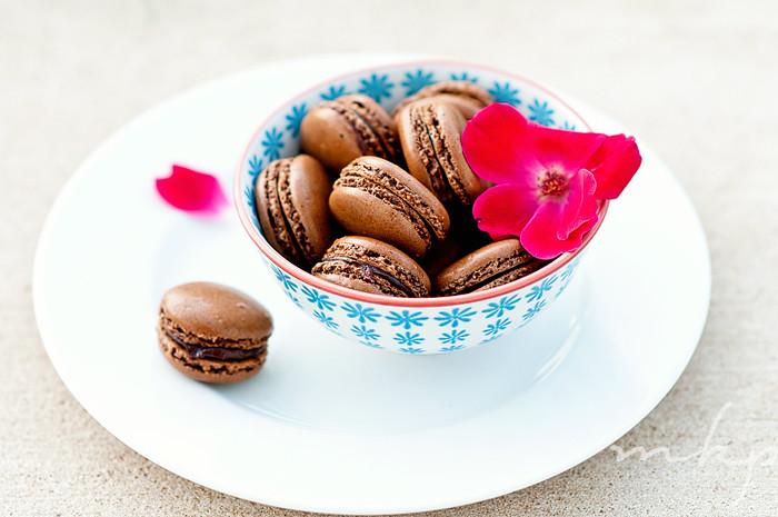 Chocolate Macarons-4