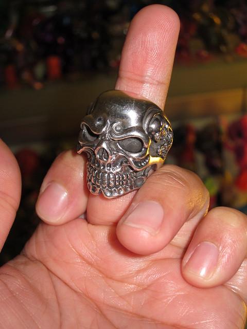 Titan Skull Ring