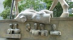 Centauro, more detail (helenoftheways) Tags: sculpture horse london freeassociation bronze torso canarywharf nicebutt hooves centauro igormitoraj londondocklands