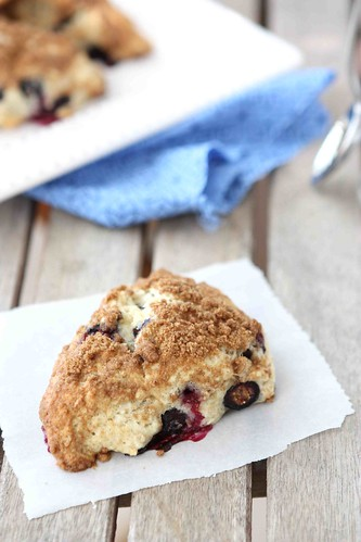 Blueberry Strudel Scone Recipe for Tasty Kitchen