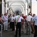 Fasce tricolori sotto la Prefettura di Torino