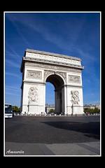 Arco do Triunfo (amaurea2310) Tags: paris france francia pars arcodeltriunfo arcodotriunfo arcdutriunfe