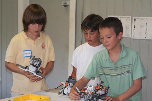 LEGO Robotics Camp
