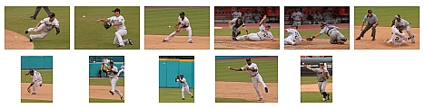 Major league baseball photos, by Bryan P with Canon 40D, EF 200mm f/2.8L lens, and Canon 1.4X teleconverter
