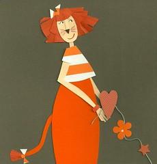 Ela adora ser Leo (mariacininha) Tags: collage paper papel colagem leo signos mariacininha