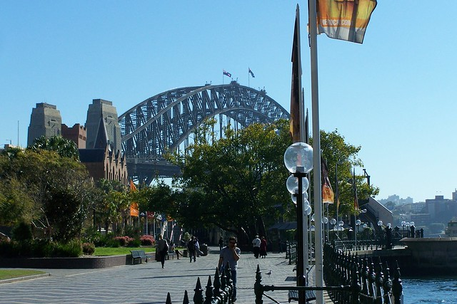 Circular Quay and Harbour Bridge
