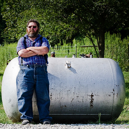 The steel tank I will be making into a trailer smoker