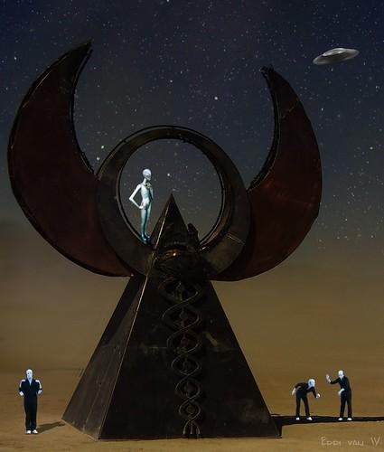 aliens are landing