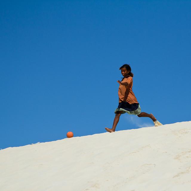 Ambatomilo football, par Franck Vervial