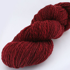 Red Velvet Handspun  Yarn
